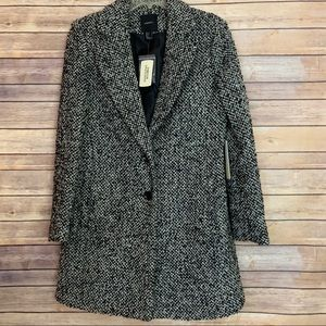 Forever 21 Tweed Coat NWT Sz Large